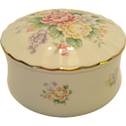 Heritage House Musical Trinket Box - You Light Up My Life - In Original Box