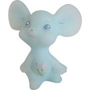 Fenton Frosted Asters Mouse