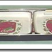 SALE Lacquer Ware Christmas Trays - Made in Japan