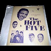 SALE The Hot Five National Tour Program - Winter 1959-1960 - Autographed