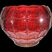 SALE Indiana Glass Tiara Constellation Sunset Bowl