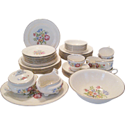 46 Pc. Set Cunningham & Pickett/Homer Laughlin Heirloom Dinnerware - FREE SHIPPING