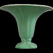 "Cowan Pottery ""Morning Glory"" Vase Ca. 1927, April Green"