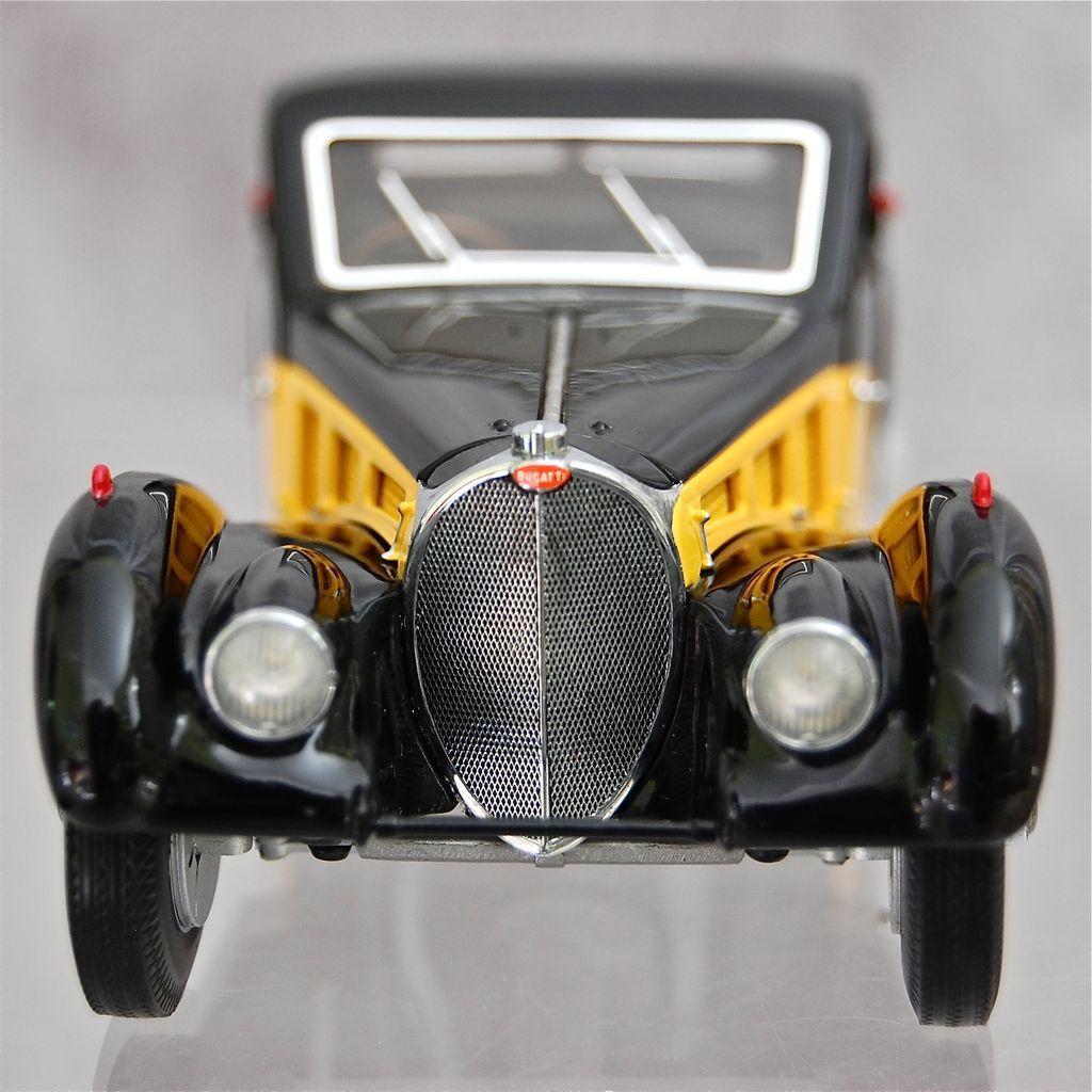 Franklin Mint 1936 Bugatti Type 57SC Ltd. Ed., MIB!
