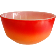 """Colorful Fire King 6"""" Mixing Bowl, Ca. 1965"""