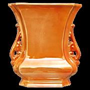 "Cowan Pottery ""Logan"" Vase #649-B, Marigold Lustre, Ca. 1925"