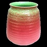 Cowan Pottery Vase #V-34, Pistachio Glaze, Ca. 1930