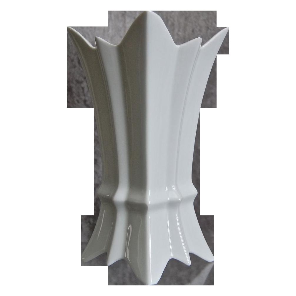 """Gerold Porzellan 8"""" Vase, Circa 1968"""