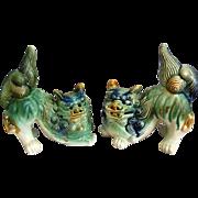 Vintage Ceramic Foo Dog Pair
