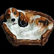"Royal Doulton Figurine, ""Cocker Spaniel in a Basket"", HN 2585"