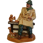 "Royal Doulton Figurine, ""Lunchtime"", HN 2485, Ca. 1973"