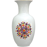 Royal KPM Bavaria Porcelain Floral Vase
