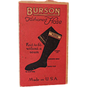 "REDUCED Red ""Burson"" Doll Stockings Box Only"