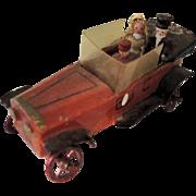Miniature German Erzebirge Putz Bridal Car