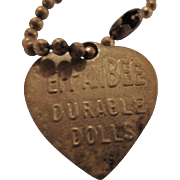 Original Effanbee F&B Heart Bracelet