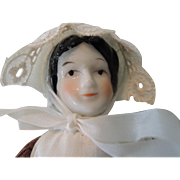 "Pretty 12 Inch ""Jenny Lind"" Doll By Shackman in Box"