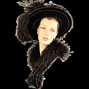 Historical Victorian Boa From Cawston's Pasadena, CA in Original Box with Original ...