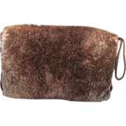 Posh Edwardian Sheared Beaver Fur Winter Hand Muff