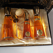 Vintage Deleith Blue Flame Fragrance Set