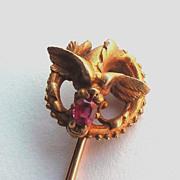 Plisson Et Hartz Chimerical Sea Creature Stickpin Stick Pin In 18K