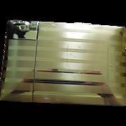 Vintage Cigarette Case Signed Elgin With Attached Lighter