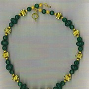 Genuine Emerald beads : The Color of Money I