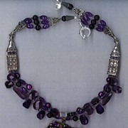 Titanium Drusy (Druzy) & Amethyst beads : Tantalizing Titatium Druzy