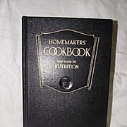 Homemakers' Cookbook And Guide to Nutrition 1946 by Esther Gardner