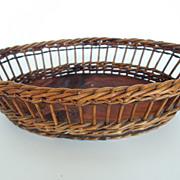 Oval Shape French Basket