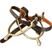 Pair of Cavalry Spurs with Straps, Ca. 1917