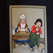 Adorable Ethel Parkinson Framed Post Cards, Children