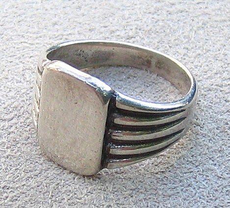 Sterling Signet Ring, c. 1950