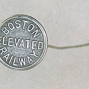 Boston Elevated Railway Hatpin, c. 1920