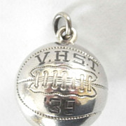1939 HS Basketball Championship Award Sterling Charm