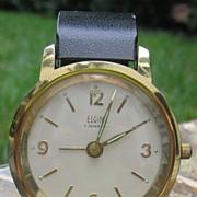 Elgin Wind-up Alarm Clock, 7 Jewels, Made in France