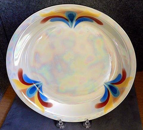 Excello Czech Pie Plate, c. 1970