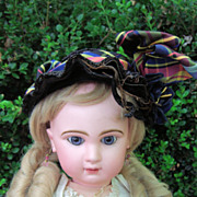 "Beautiful Closed Mouth Antique Tete Jumeau Doll 25""w/Corset!"