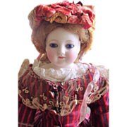 """ALL ORIGINAL 18"""" Barrois French Fashion Antique Doll Lower Bisque Arms w/Extras! Layaway!"""