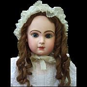 "32"" Size 15 Jumeau Antique Doll  W/Jumeau Marked Shoes - Layaway"