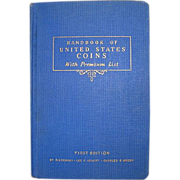 1942 Handbook of United States Coins ~ FIRST EDITION ~ R.S Yeoman Blue Book~Whitman Publishing Company