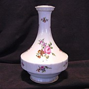Wonderful Limoges Porcelain Decanter ~ Studio Decorated with Pink Roses ~ Chantilly Pattern ~ Haviland France 1894-1931