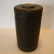 SALE Large Two Sided Leather Covered Collar Box with Stud Holder – March 25, 1890
