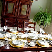 SALE Impressive! Beautiful Haviland Limoges Porcelain (67) piece Dinner Service Set– Light-B