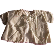 Doll Jacket in Silk New Born Baby Size Baby Robe
