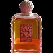 Perfume Bottle Commercial Sauze Parfums Paris in Excellent Unused Condition 1936