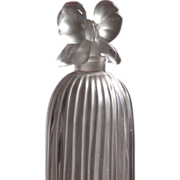 Perfume Bottle Frosted Glass Indiscret Tall Size by Lucien Lelong