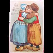 SALE Valentine's Day Post Card by Illustrator Frances Brundage 1906
