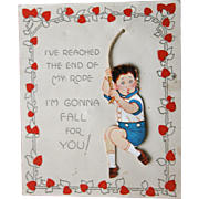 Vintage Valentine's Day Card 1929 Great Condition