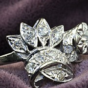 .67 Carat Diamond Art Deco Ring