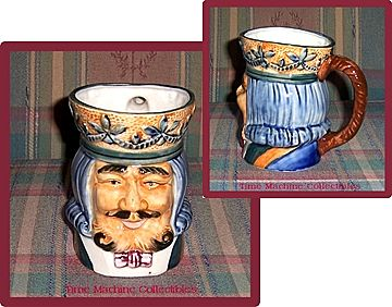 Large Occupied Japan King with Crown Toby Mug, Marked Over 50% Off